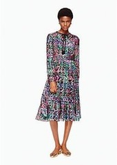 Kate Spade metallic multi dot dress