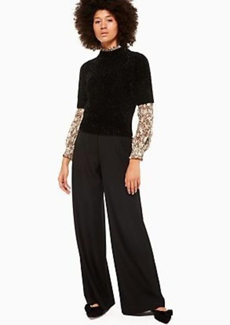 Kate Spade metallic texture sweater