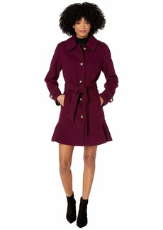 Kate Spade Military Shoulder Single Breasted Trench Coat