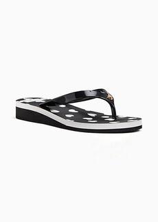 Kate Spade milli flip-flop sandals