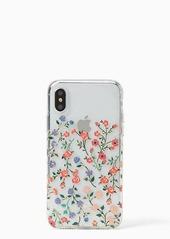 Kate Spade mini bloom iPhone x case