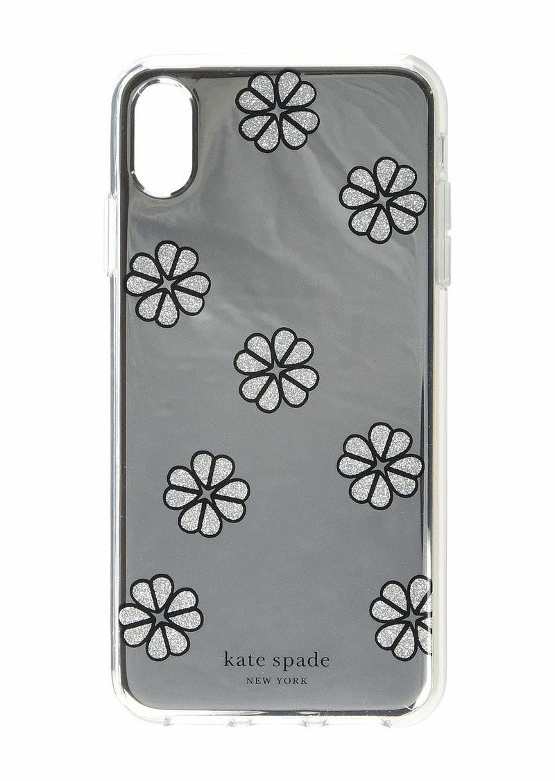 Kate Spade Mirror Spade Flower Phone Case for iPhone XS Max