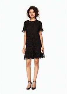 Kate Spade mixed lace shift dress