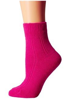 Kate Spade Mixed Rib w/ Bow Charm Home Sock 1-Pack