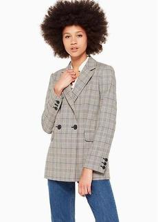 Kate Spade mod plaid jacket
