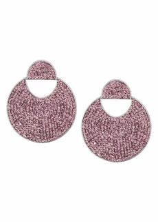 Kate Spade Mod Scallop Pave Drop Earrings