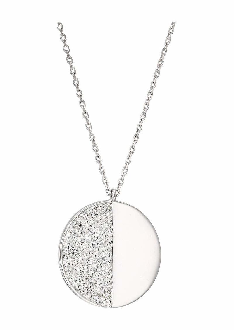Kate Spade Mod Scallop Pave Pendant Necklace