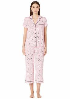 Kate Spade Modal Jersey Cropped Pajama Set