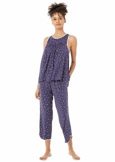 Kate Spade Modal Jersey Cropped PJ Set