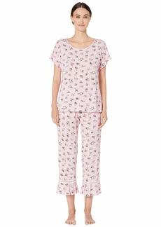 Kate Spade Modal Jersey Long Pajama Set