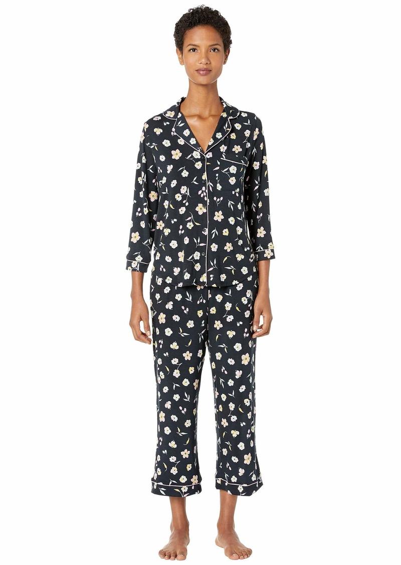 Kate Spade Modal Jersey Night Flora Capris Pajama Set