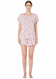 Kate Spade Modal Jersey Short Pajama Set
