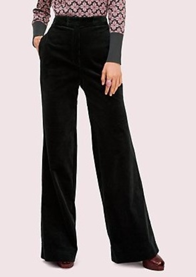 Kate Spade modern cord flare pant