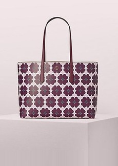 Kate Spade molly graphic clover large tote