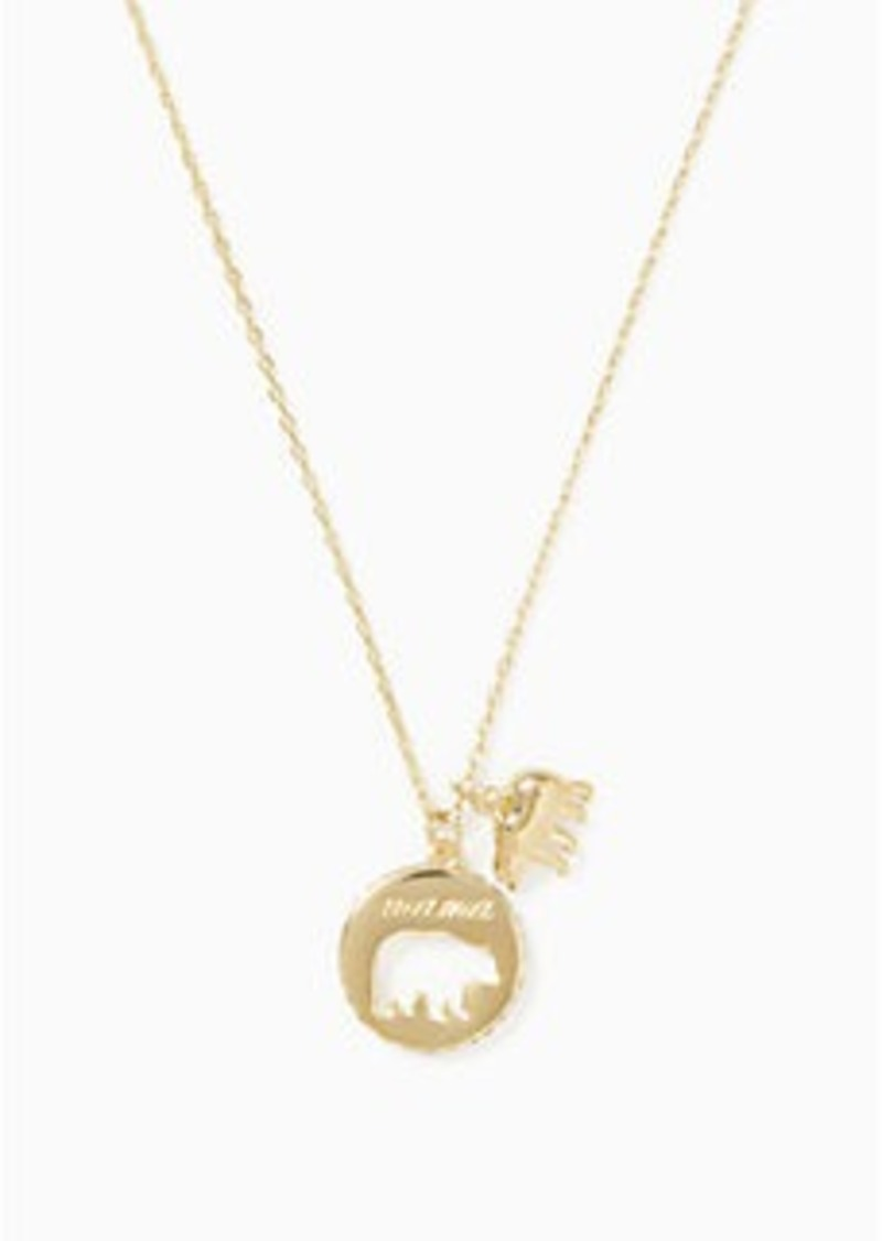 new silver products bear bearbeary mama mother gold kids necklace