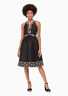 Kate Spade mosaic embellished midi dress