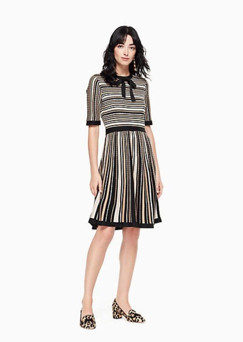 Kate Spade multi stripe sweater dress