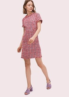 Kate Spade multi tweed dress