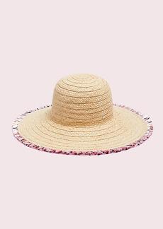 Kate Spade multicolor fringe hat