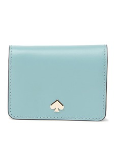 Kate Spade leather nadine slim bi-fold card holder