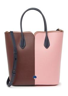 Kate Spade nicola bicolor large tote bag