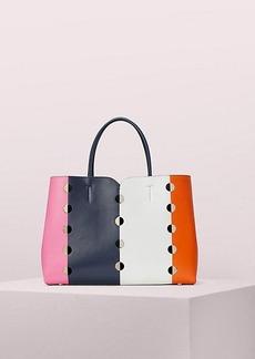 Kate Spade nicola mod dot large satchel