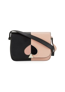 Kate Spade Nicola Two-Tone Leather Shoulder Bag