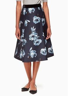 night rose mikado skirt