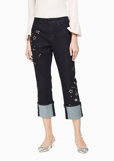 Kate Spade night sky embellished jean