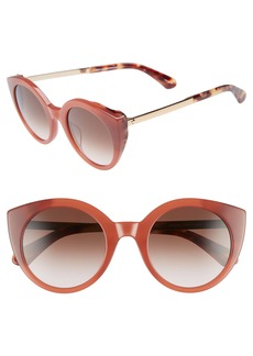 Kate Spade norina 50mm cat eye sunglasses