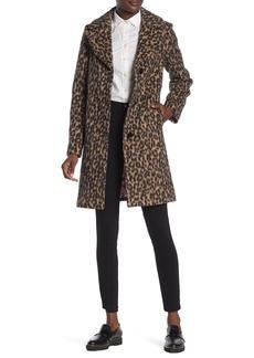 Kate Spade notch collar coat