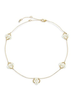 Kate Spade Nouveau 12K Yellow Goldplated & Imitation Pearl Necklace