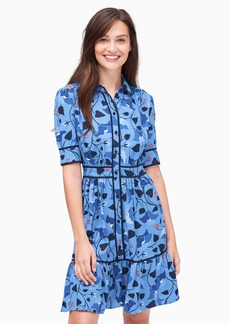 Kate Spade nouveau bloom fluid shirtdress
