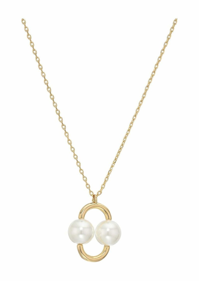 Kate Spade Nouveau Pearls Pendant Necklace