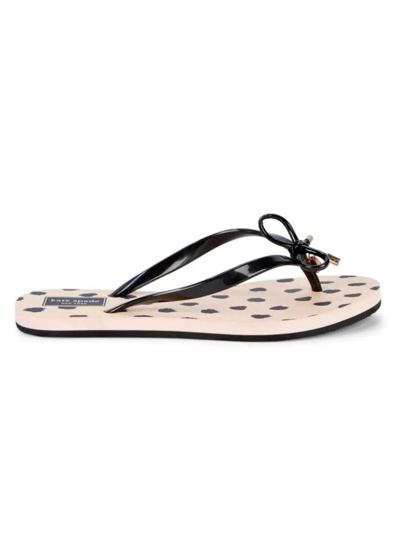Kate Spade Nova Rubber Flip Flops