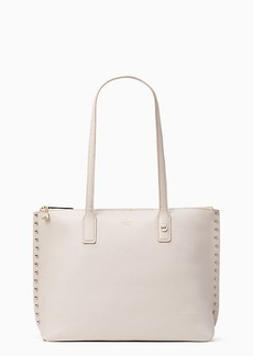 Kate Spade on purpose studded leather tote