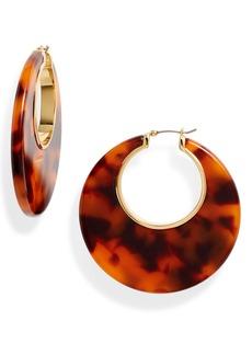 Kate Spade on the dot hoop earrings