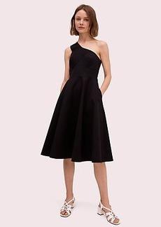 Kate Spade one shoulder midi dress