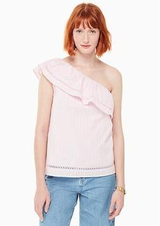 Kate Spade one-shoulder top