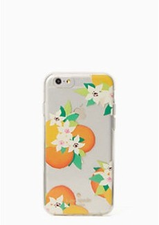 Kate Spade orange blossoms iphone 6 case