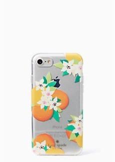 Kate Spade orange blossoms iphone 7 case