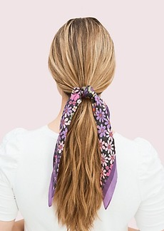 Kate Spade pacific petals hair tie and bandana set