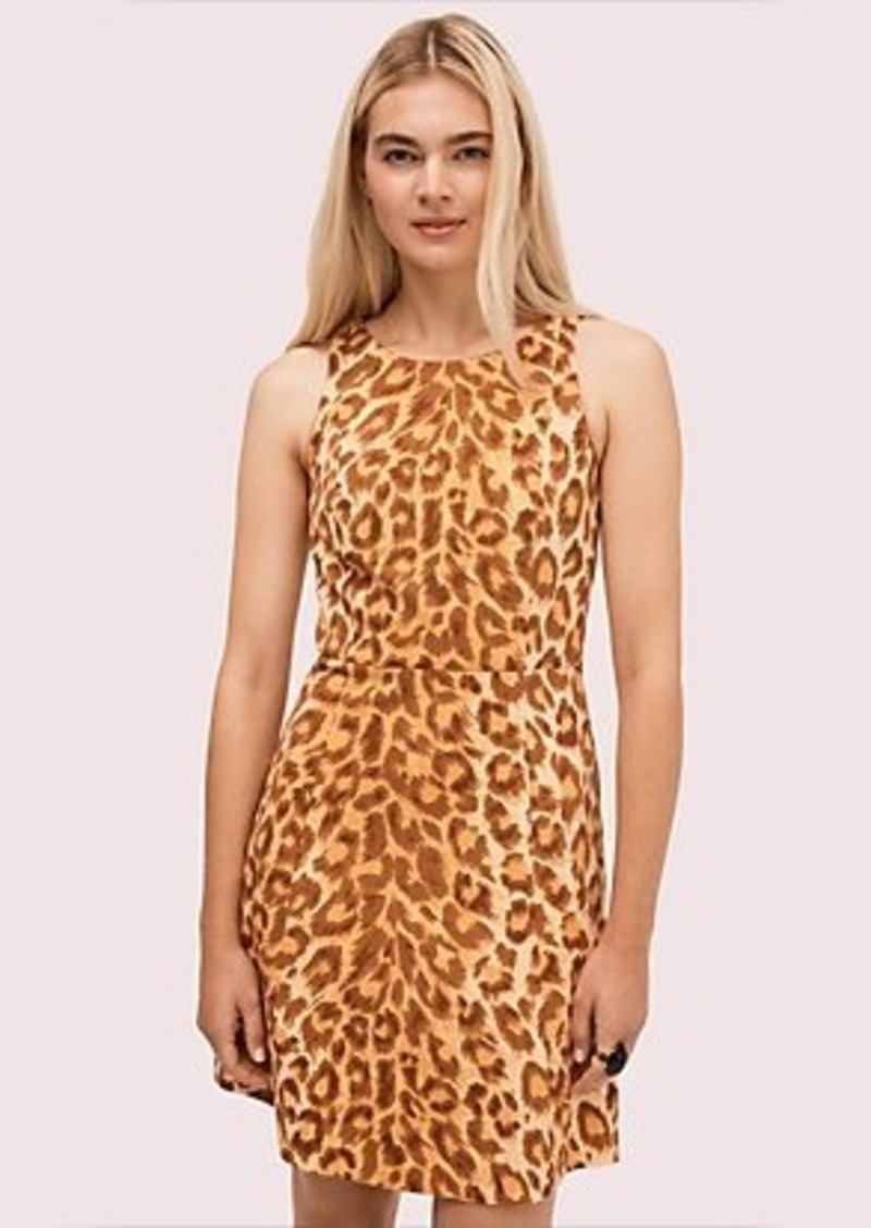 Kate Spade panthera ponte dress