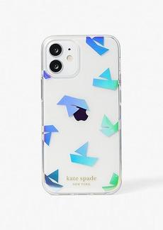 Kate Spade Paper Boats Iphone 12 Mini Case