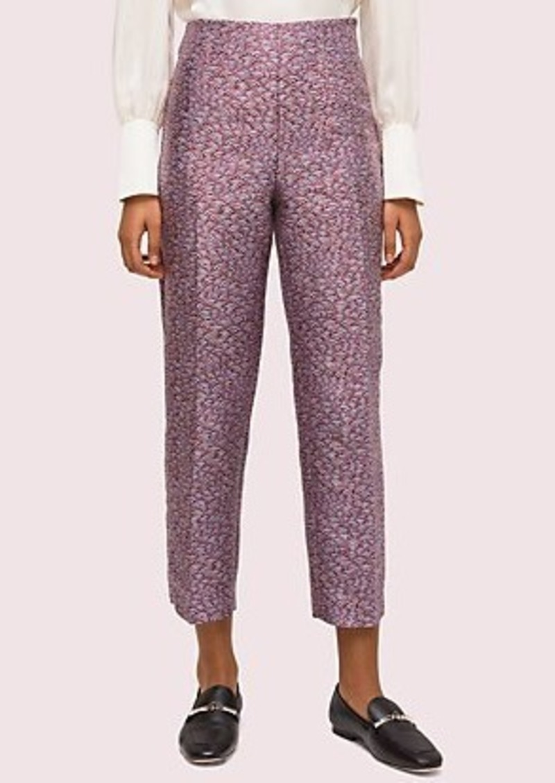 Kate Spade party bubbles jacquard pant