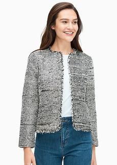 Kate Spade Party Tweed Jacket