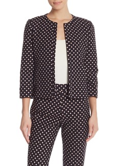 Kate Spade patterned diamond jacquard jacket