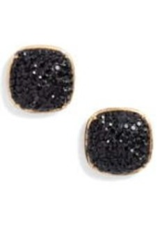 Kate Spade pave cz small square stud earrings