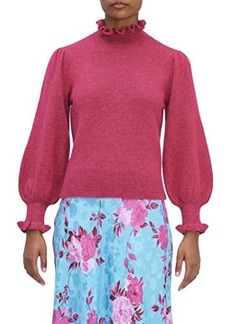 Kate Spade Pearl Button Cuff Sweater