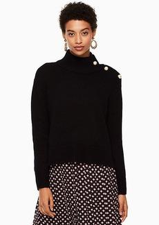 Kate Spade pearl turtleneck sweater